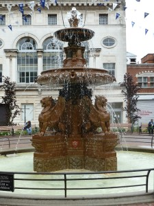 The Fountain at Town hall Square