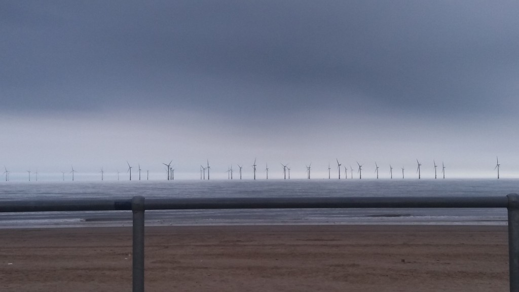 Last View of Wind Farms