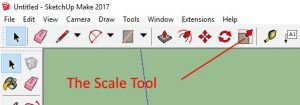 The Scale Tool
